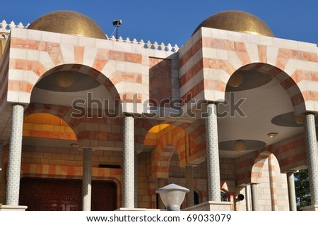 Mosques Architecture - stock photo