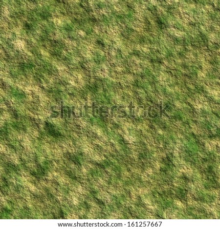 Mossy rock seamless background - stock photo