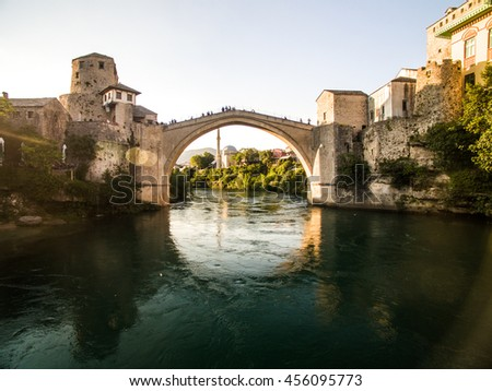 Mostar, Bosnia & Herzegovina - stock photo