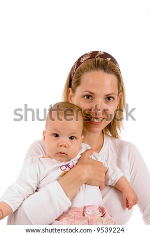 Mother and baby - stock photo