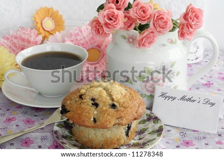 Mother's Day still life - stock photo