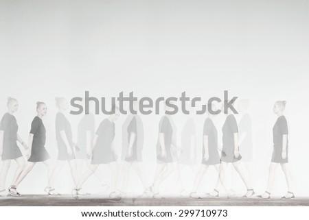 motion - stock photo