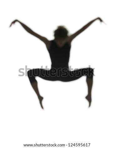 Dancer jumping   Dancer Jumping Silhouette