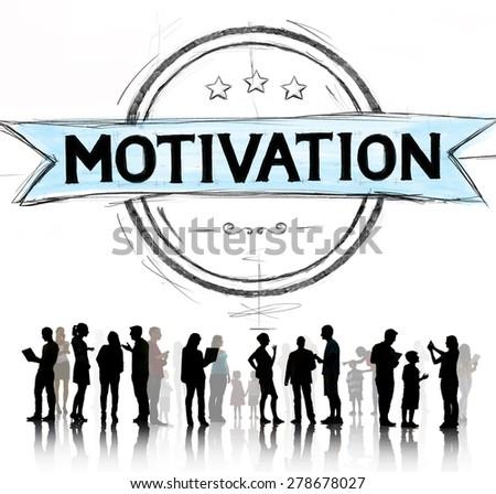 Motivation Inspiration Motivate Trust Inspire Concept - stock photo