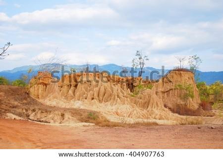mound - stock photo