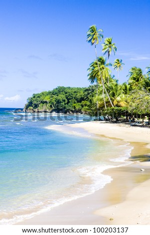 Mount Irvine Bay, Tobago - stock photo