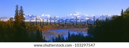 Mount McKinley, Alaska - stock photo