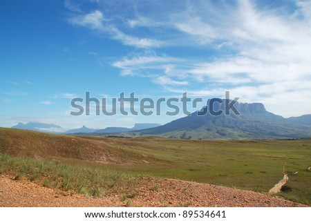 Mount Roraima - stock photo