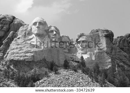 Mount Rushmore (2) - stock photo
