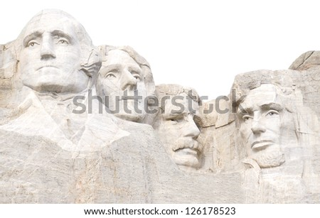 Mount Rushmore National Monument, South Dakota, United States - stock photo