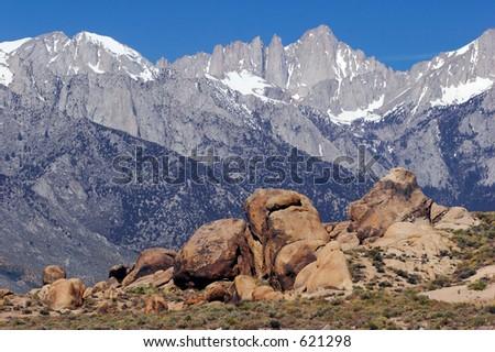 Mount Whitney - stock photo
