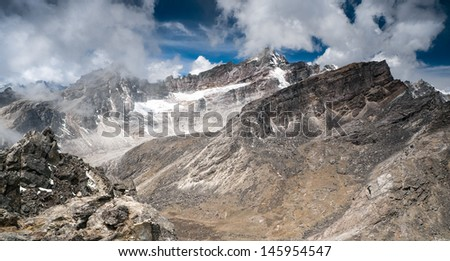 mountain lanscape - stock photo