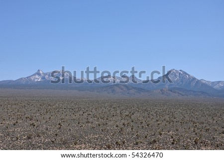 Mountain Range - stock photo