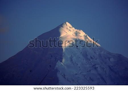 mountain top - stock photo
