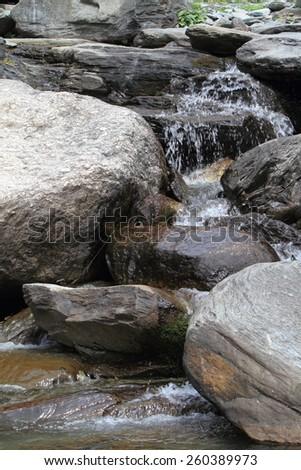 Mountian River - stock photo