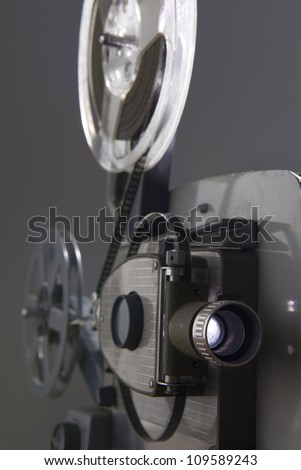 movie projector - stock photo