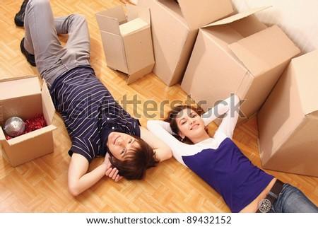 Moving House - stock photo