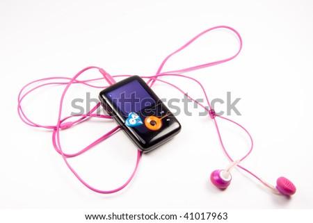 MP3 Palyer - stock photo