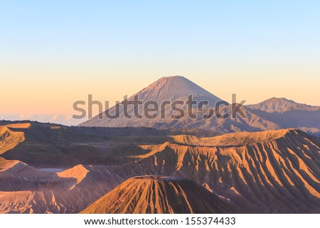 Mt.Bromo,Indonesia - stock photo