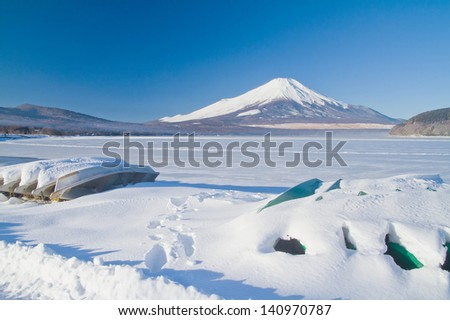 Mt.Fuji - stock photo