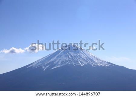 Mt. Fuji - stock photo