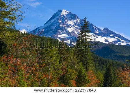 Mt Hood, Oregon - stock photo