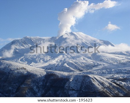 Mt. St. Helens - stock photo