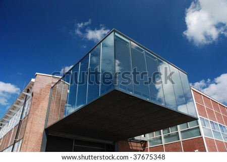 MTV building in Amsterdam - stock photo