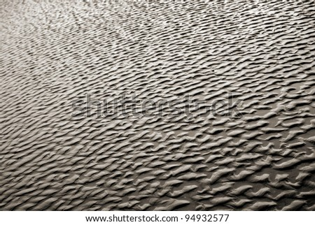 muddy structures - stock photo