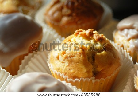 Muffin _ Cup Cake - stock photo