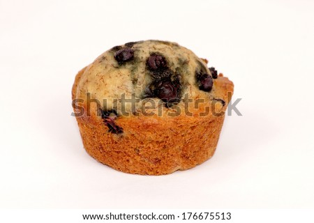 muffin isolation - stock photo