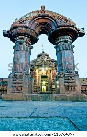 Mukteswar Temple, Bhubaneswar, Orissa, India - stock photo