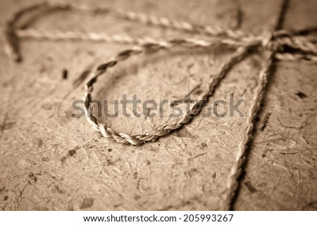 Mulberry paper - stock photo