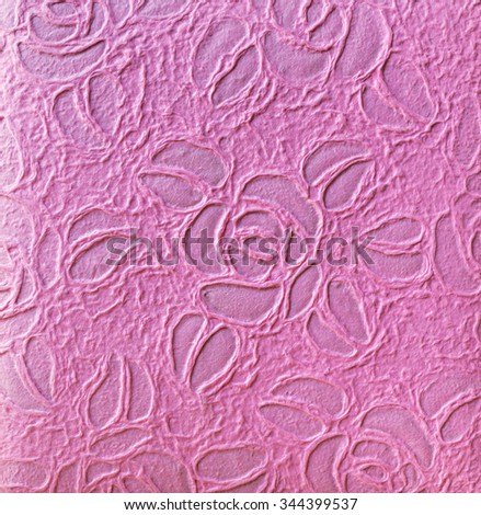 Mulberry paper texture and background. - stock photo