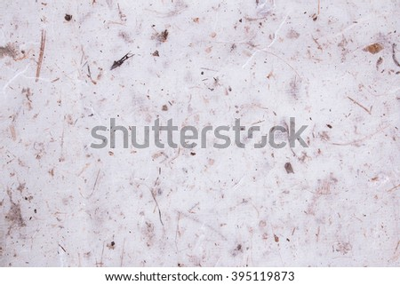 Mulberry paper texture background - stock photo
