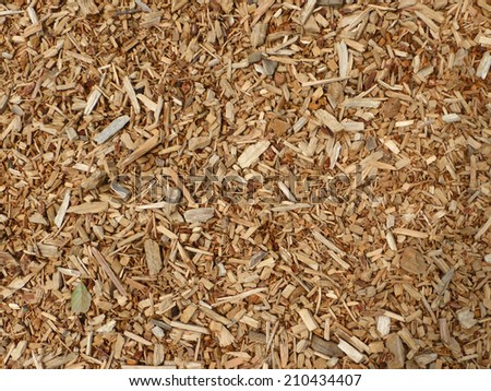 mulch, compost - stock photo