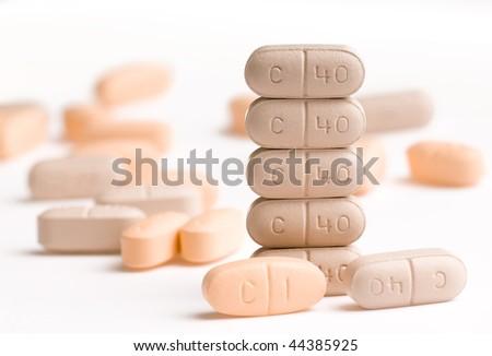 Multi Drugs - stock photo