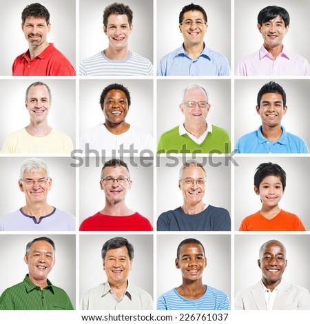 Multi-Ethnics People - stock photo