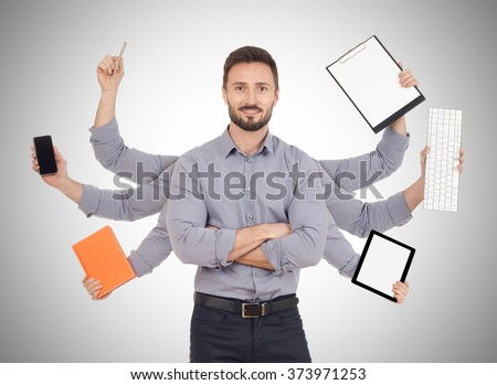 Multi-tasking - stock photo