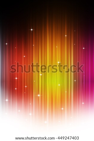 multicolor party music background for flyers and club posters - stock photo