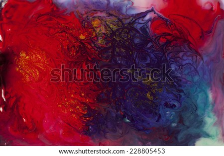 multicolor pattern - stock photo