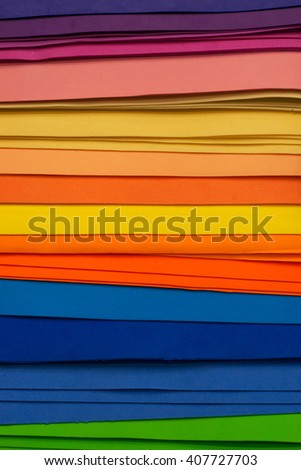 Multicolor pieces of felt - stock photo