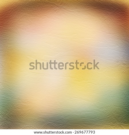 Multicolored abstract background with card for greeting or congratulation - stock photo