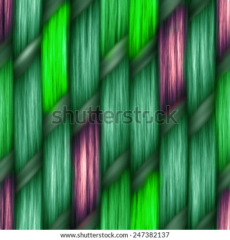 multicolored seamless weaving texture pattern wood  or hair - stock photo