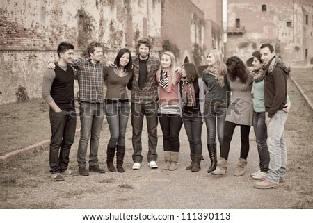 Multicultural Group of People - stock photo
