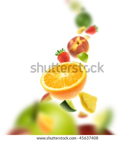 Multifruit - stock photo