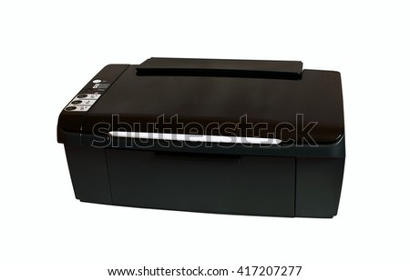 Multifunctional printing device - stock photo