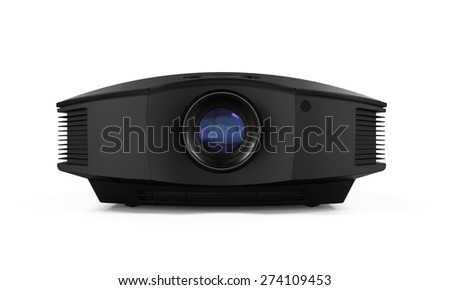 Multimedia Projector - stock photo