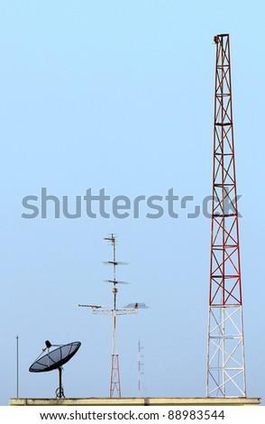 Multiple type of communication - stock photo