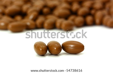 Multivitamin capsule - stock photo